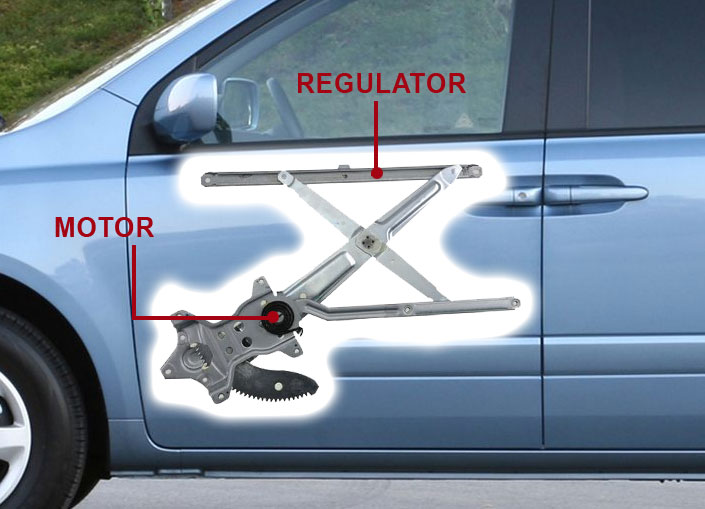 window motor and regulator repair
